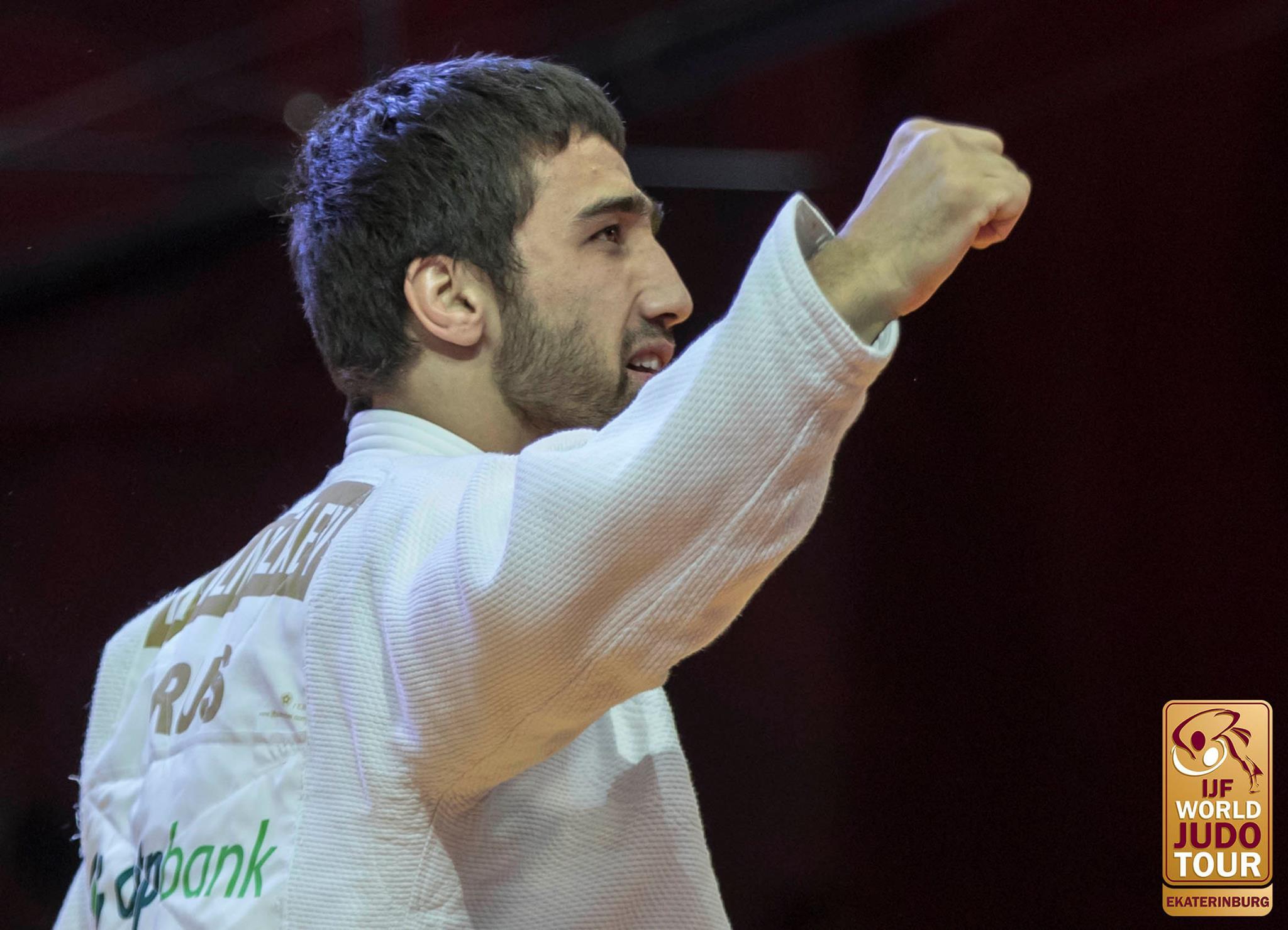 JudoInside - News - The gold backpatch fits as Khasan