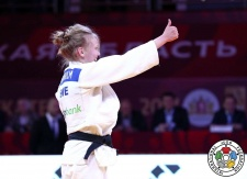 Anna Bernholm (SWE) - Grand Slam Ekaterinburg (2017, RUS) - © IJF Media Team, International Judo Federation