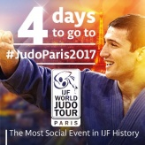 Varlam Liparteliani (GEO) - Grand Slam Paris (2017, FRA) - © IJF Media Team, International Judo Federation