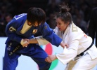 Natsumi Tsunoda (JPN), Majlinda Kelmendi (KOS) - Grand Slam Paris (2017, FRA) - © IJF Media Team, International Judo Federation
