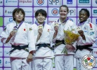 Miku Tashiro (JPN), Nami Nabekura (JPN), Clarisse Agbegnenou (FRA), Juul Franssen (NED) - IJF World Masters St. Petersburg (2017, RUS) - © IJF Media Team, International Judo Federation