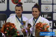 Amelie Stoll (GER), Theresa Stoll (GER) - Grand Prix The Hague (2017, NED) - © JudoInside.com, judo news, results and photos