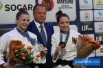 Theresa Stoll (GER), Amelie Stoll (GER) - The Hague Grand Prix (2017, NED) - © JudoInside.com, judo news, results and photos