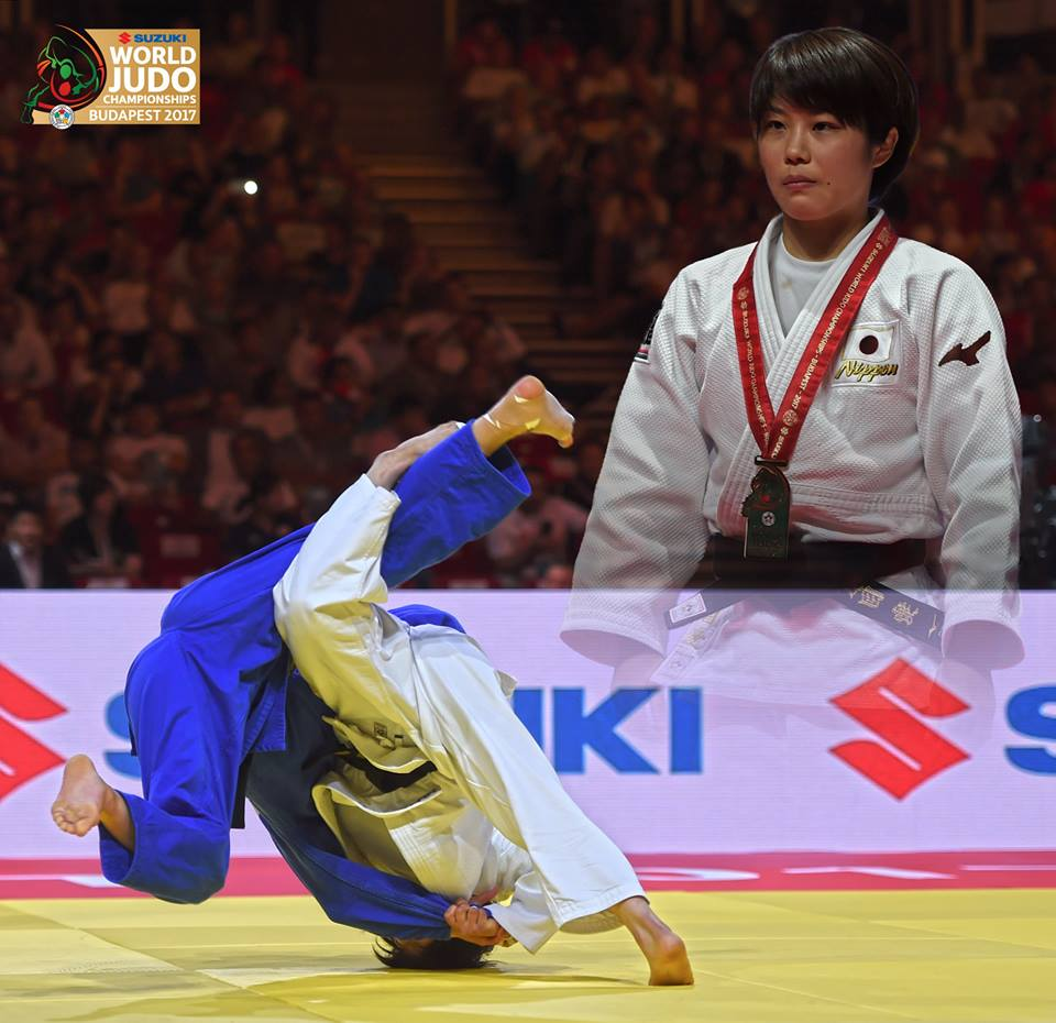 Japan make it four from four at judo world championships