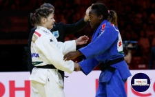 Tina Trstenjak (SLO), Clarisse Agbegnenou (FRA) - World Championships Budapest (2017, HUN) - © 100Judo