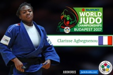 Clarisse Agbegnenou (FRA) - World Championships Budapest (2017, HUN) - © IJF Media Team, International Judo Federation