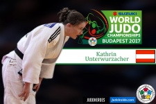 Kathrin Unterwurzacher (AUT) - World Championships Budapest (2017, HUN) - © IJF Media Team, International Judo Federation