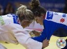 Telma Monteiro (POR), Helene Receveaux (FRA) - World Championships Budapest (2017, HUN) - © IJF Media Team, International Judo Federation