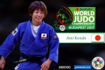 Ami Kondo (JPN) - World Championships Budapest (2017, HUN) - © IJF Media Team, International Judo Federation