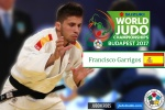 Francisco Garrigós (ESP) - World Championships Budapest (2017, HUN) - © IJF Media Team, International Judo Federation