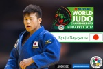 Ryuju Nagayama (JPN) - World Championships Budapest (2017, HUN) - © IJF Media Team, International Judo Federation