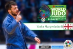 Vazha Margvelashvili (GEO) - World Championships Budapest (2017, HUN) - © IJF Media Team, International Judo Federation