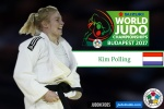 Kim Polling (NED) - World Championships Budapest (2017, HUN) - © IJF Media Team, International Judo Federation