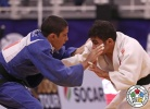 Mihrac Akkus (TUR), Luka Kapanadze (GEO) - Cadet World Championships Santiago de Chile (2017, CHI) - © IJF Media Team, International Judo Federation
