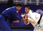 Hitoyoshi Sumi (JPN), Sukhbat Byambasuren (MGL) - Cadet World Championships Santiago de Chile (2017, CHI) - © IJF Media Team, International Judo Federation