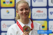 Amber Gersjes (NED) - World Championships Juniors Zagreb (2017, CRO) - © JudoInside.com, judo news, results and photos