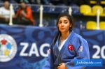 Cicek Akyuz (TUR) - World U21 Championships Zagreb (2017, CRO) - © JudoInside.com, judo news, results and photos