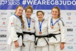 Amy Livesey (GBR), Annie Boby (GBR), Verity Stephens (GBR), Mollie Game (GBR) - British Championships Sheffield (2018, GBR) - © Mike Varey - Elitepix, British Judo Association