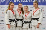 Annie Boby (GBR), Mollie Game (GBR), Lucy King (GBR), Olivia Reid (GBR) - British U21 Championships Sheffield (2018, GBR) - © Mike Varey - Elitepix, British Judo Association