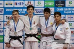 Gyorgy Szatmari (HUN), Ruslan Halavachou (BLR), Eylon Barsheshet (ISR), Khvicha Mesablishvili (RUS) - European Cup Cadets Zagreb (2018, CRO) - © Klaus Müller, Watch: https://km-pics.de/