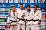 Yago Abuladze (RUS), Jorre Verstraeten (BEL), Karamat Huseynov (AZE), Vugar Shirinli (AZE) - European Cup Saarbrucken (2018, GER) - © Klaus Müller, Watch: https://km-pics.de/