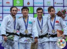 Gusman Kyrgyzbayev (KAZ), Bekir Ozlu (TUR) - Grand Prix Agadir (2018, MAR) - © IJF Media Team, International Judo Federation