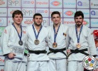Vedat Albayrak (TUR), Jack Hatton (USA), Dorin Gotonoaga (MDA), Tato Grigalashvili (GEO) - Grand Prix Antalya (2018, TUR) - © IJF Media Team, International Judo Federation