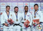 Inal Tasoev (RUS), Javad Mahjoub (IRI), Andy Granda (CUB), SungMin Kim (KOR) - Grand Prix Antalya (2018, TUR) - © IJF Media Team, International Judo Federation
