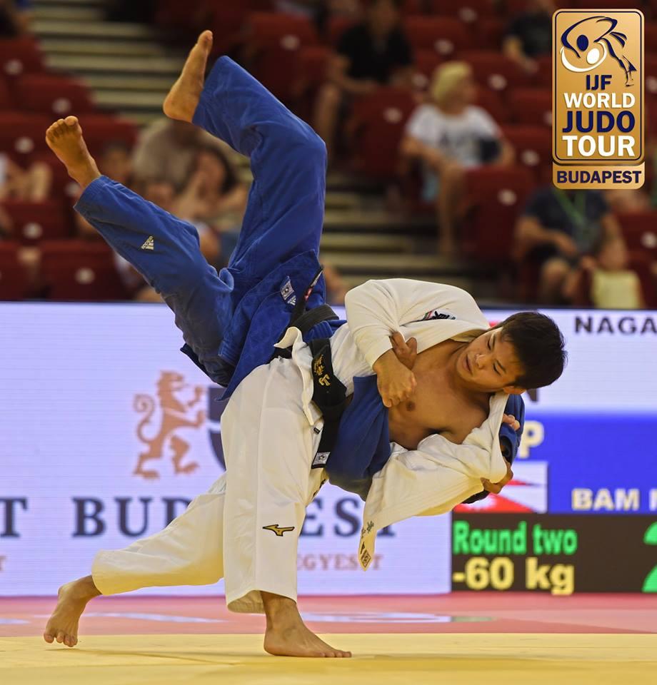 JudoInside - News - Ryuju Nagayama wins at Grand Prix debut