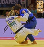 Natsumi Tsunoda (JPN), Charline Van Snick (BEL) - Grand Prix Budapest (2018, HUN) - © IJF Media Team, International Judo Federation