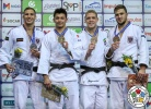 Niiaz Bilalov (RUS), Laurin Boehler (AUT), Rafael Buzacarini (BRA), Aaron Fara (AUT) - Grand Prix Cancun (2018, MEX) - © IJF Media Team, International Judo Federation