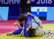 Ami Kondo (JPN) - Grand Prix Hohhot (2018, CHN) - © IJF Media Team, International Judo Federation