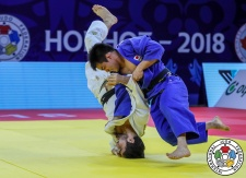 Takeshi Sasaki (JPN) - Grand Prix Hohhot (2018, CHN) - © IJF Media Team, International Judo Federation