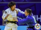Maria Portela (BRA), Chizuru Arai (JPN) - Grand Prix Hohhot (2018, CHN) - © IJF Media Team, International Judo Federation