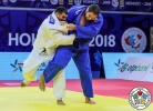 Javad Mahjoub (IRI), Rafael Silva (BRA) - Grand Prix Hohhot (2018, CHN) - © IJF Media Team, International Judo Federation