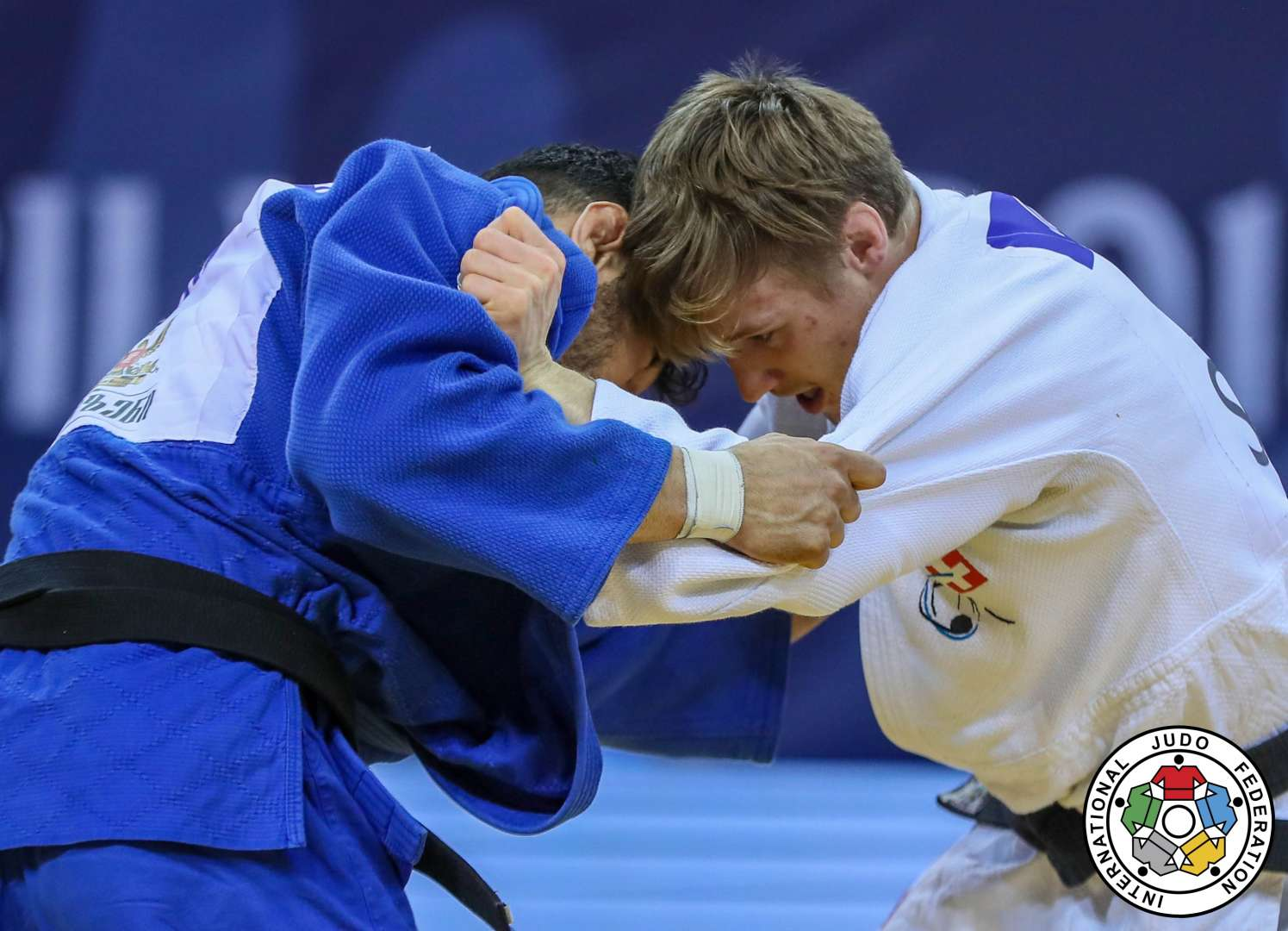 Loic Pietri motivated after gold at Euro Open in Odivelas