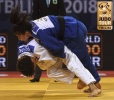 Amandine Buchard (FRA), Mariam Janashvili (GEO) - Grand Prix Tbilisi (2018, GEO) - © IJF Media Team, International Judo Federation