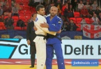 Vazha Margvelashvili (GEO), Baruch Shmailov (ISR) - Grand Prix The Hague (2018, NED) - © JudoInside.com, judo news, results and photos