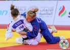 Automne Pavia (FRA), Anastasiia Konkina (RUS) - Grand Slam Abu Dhabi (2018, UAE) - © IJF Media Team, International Judo Federation