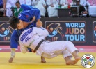 Jorre Verstraeten (BEL), Gusman Kyrgyzbayev (KAZ) - Grand Slam Abu Dhabi (2018, UAE) - © IJF Media Team, International Judo Federation