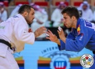 Amiran Papinashvili (GEO), Francisco Garrigós (ESP) - Grand Slam Abu Dhabi (2018, UAE) - © IJF Media Team, International Judo Federation