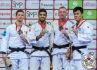 Sagi Muki (ISR), Matthias Casse (BEL), Frank De Wit (NED), Didar Khamza (KAZ) - Grand Slam Abu Dhabi (2018, UAE) - © IJF Media Team, International Judo Federation