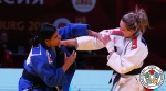 Jessica Pereira (BRA), Darya Skrypnik (BLR) - Grand Slam Ekaterinburg (2018, RUS) - © IJF Media Team, International Judo Federation