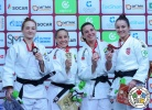 Maria Portela (BRA), Taisia Kireeva (RUS), Barbara Matić (CRO), Barbara Timo (POR) - Grand Slam Ekaterinburg (2018, RUS) - © IJF Media Team, International Judo Federation