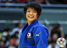 Uta Abe (JPN) - Grand Slam Osaka (2018, JPN) - © IJF Media Team, International Judo Federation
