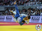 Yeldos Smetov (KAZ), Togtokhbayar Magsar (MGL) - Grand Slam Osaka (2018, JPN) - © IJF Media Team, International Judo Federation