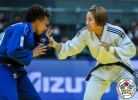 Da Sol Park (KOR), Amandine Buchard (FRA) - Grand Slam Osaka (2018, JPN) - © IJF Media Team, International Judo Federation