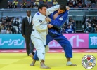 Aaron Wolf (JPN), Shady El Nahas (CAN), Jorge Fonseca (POR), Kentaro Iida (JPN) - Grand Slam Osaka (2018, JPN) - © IJF Media Team, International Judo Federation
