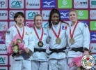 Sally Conway (GBR), Chizuru Arai (JPN), Kim Polling (NED), Marie Eve Gahié (FRA) - Grand Slam Paris (2018, FRA) - © IJF Media Team, International Judo Federation