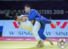 Amiran Papinashvili (GEO), Yi Shang (CHN) - IJF World Masters Guangzhou (2018, CHN) - © IJF Media Team, International Judo Federation